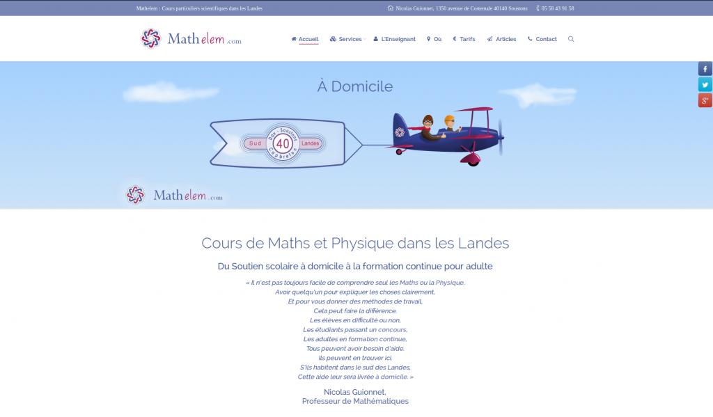 mathelem Accueil
